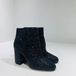 Michael Kors Arabella Ankle Boot Almond Toe Black